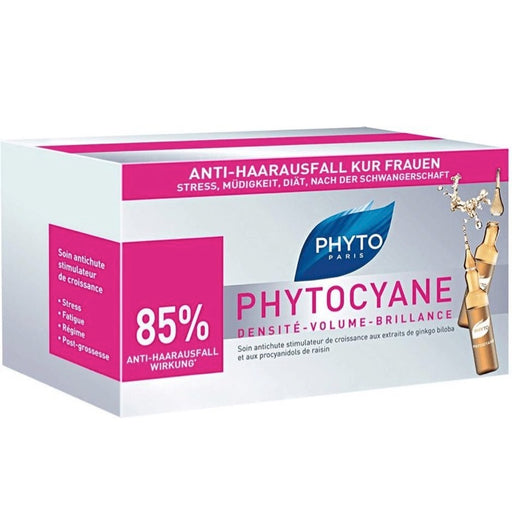Phyto Phytocyane Hair Treatment 12 x 7.5 ml