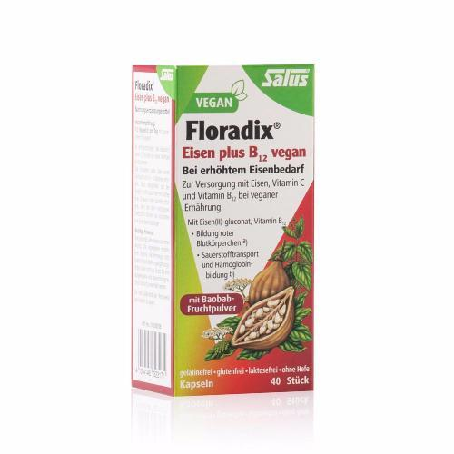 Salus Floradix Iron plus B12 Vegan