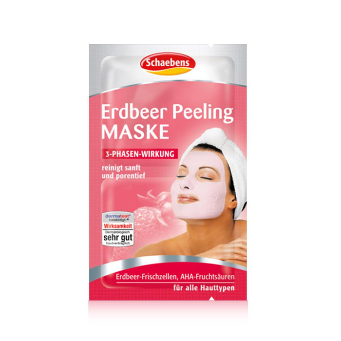 Schaebens Strawberry Peeling Mask