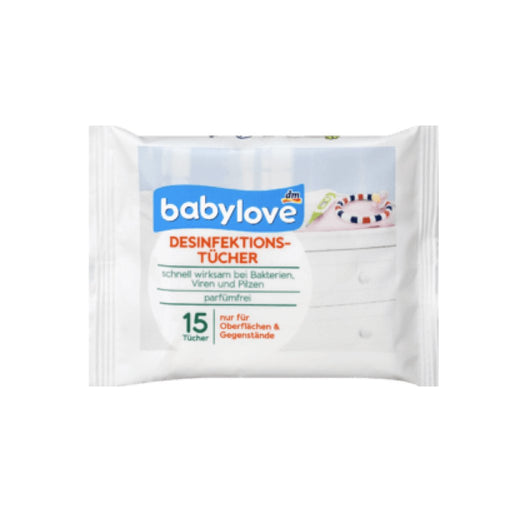 BabyLove Disinfection Wipes 1 pack x 15 papers
