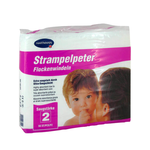 Strampelpeter 2 Diapers Pads 56 pcs