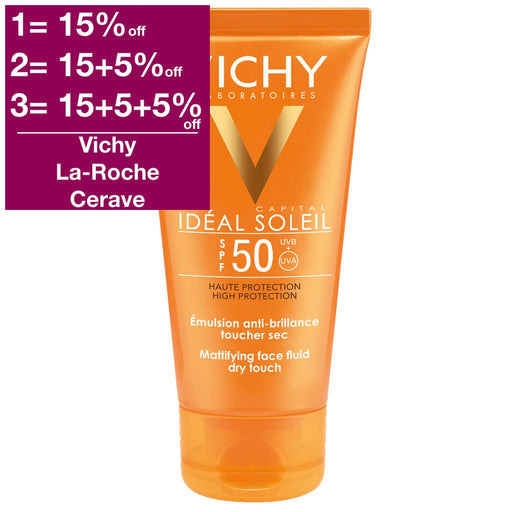Vichy Capital Ideal Soleil Sun Fluid SPF 50