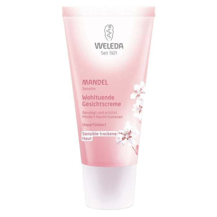 Weleda Almond Soothing Facial Cream | Natural Skin Care | VicNic