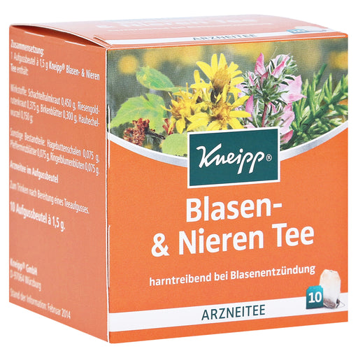 Kneipp bubble and kidney tea 10 pcs