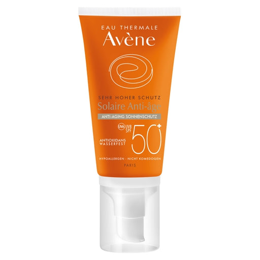 Avene Sunsitive Anti Aging Suncare SPF 50+ 50 ml is a Sunscreen for Face