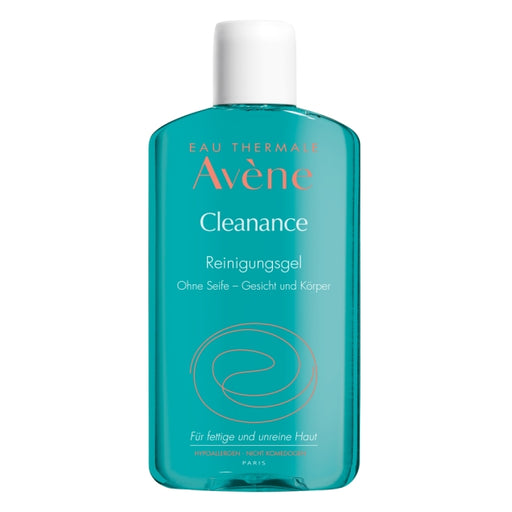 Avene Cleanance Cleansing Gel 200 ml is a face Cleanser