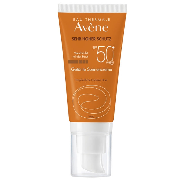 Avene Sunsitive Sunscreen SPF 50+ Tinted