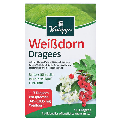 Kneipp hawthorn dragees 90 pcs