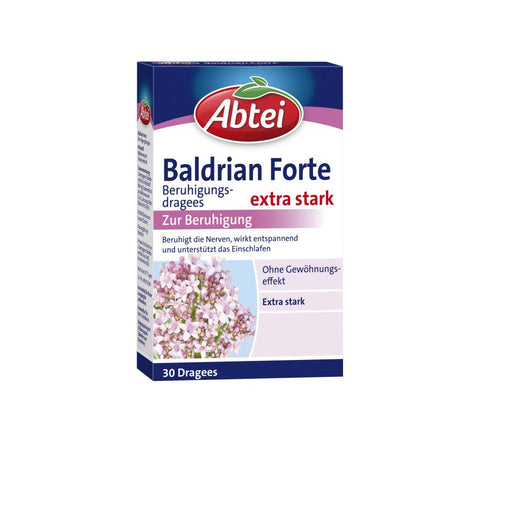 Abtei Valerian Forte Coated Tablets 30 pcs
