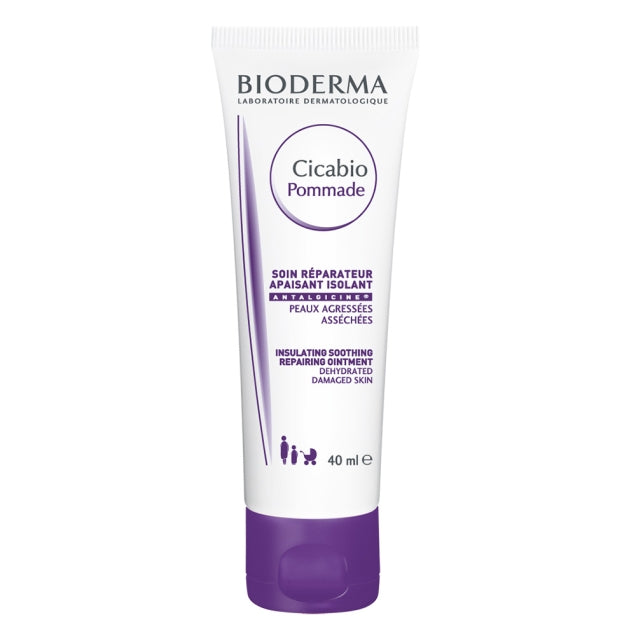 Bioderma Cicabio Pommade for damaged and dried skin