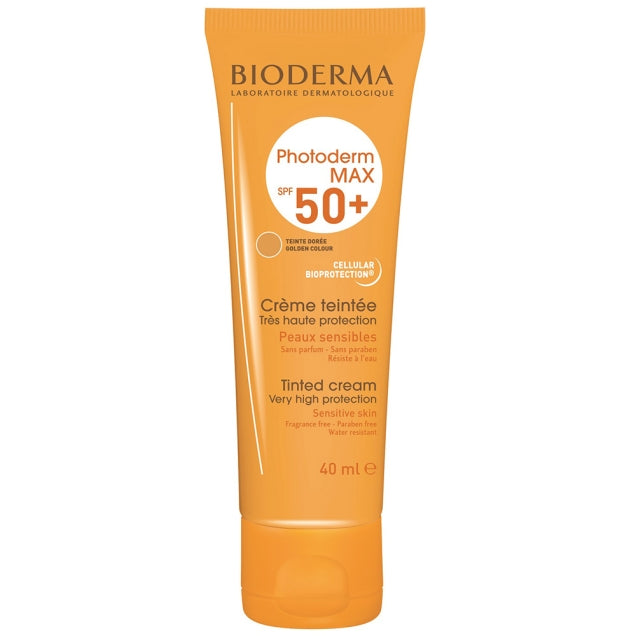 Bioderma Photoderm MAX Cream Tinted (Gold) SPF 50+ 40 ml