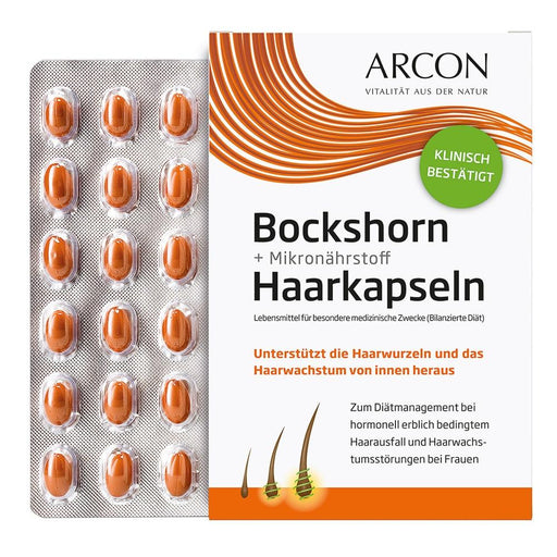 Arcon Fenugreek + Micronutrient Hair Capsules 180 cap