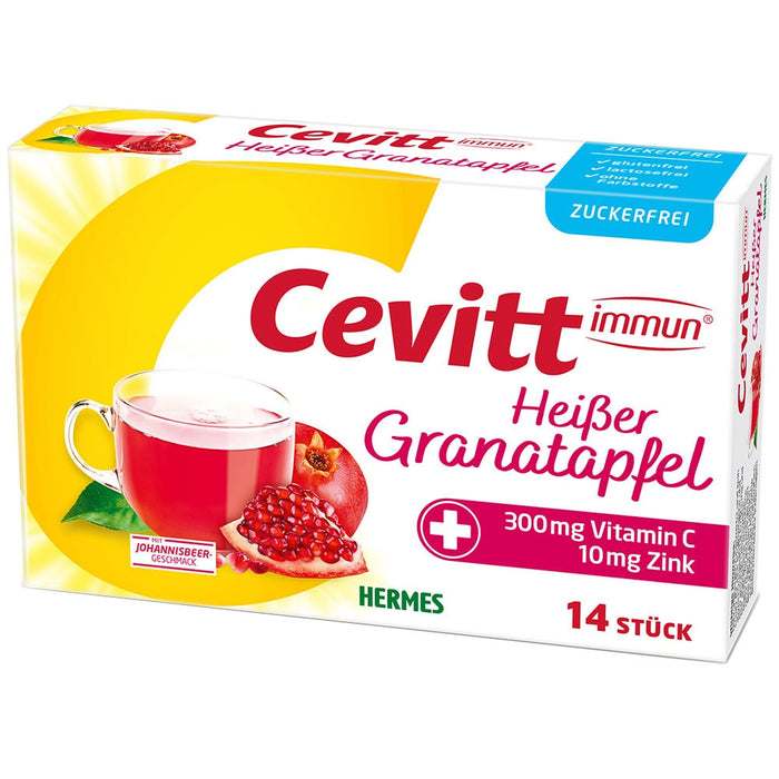 Cevitt Pomegranate Hot Drink (Sugar Free) 14 sachets