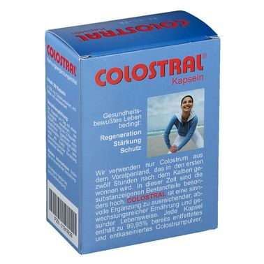 Colostral Capsules 80 pcs