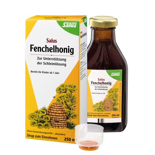 Salus Fennel Honey to loosens mucus
