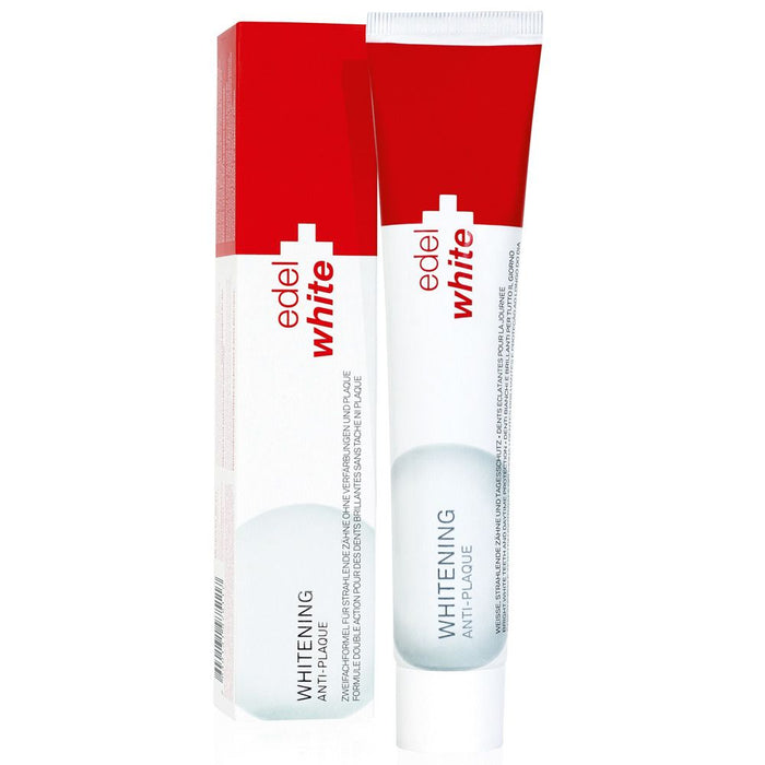 Edel White Anti-Plaque & Whitening Toothpaste 75 ml