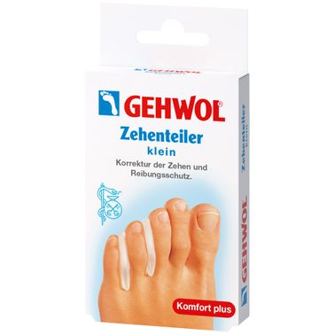 Gehwol Polymer Gel Toes Divider Small 3 pcs
