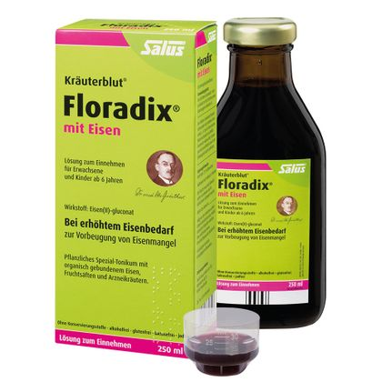 Floradix With Iron Drink 250 ml