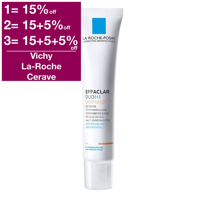 La Roche-Posay Effaclar Duo + Unifiant Cream (Light)
