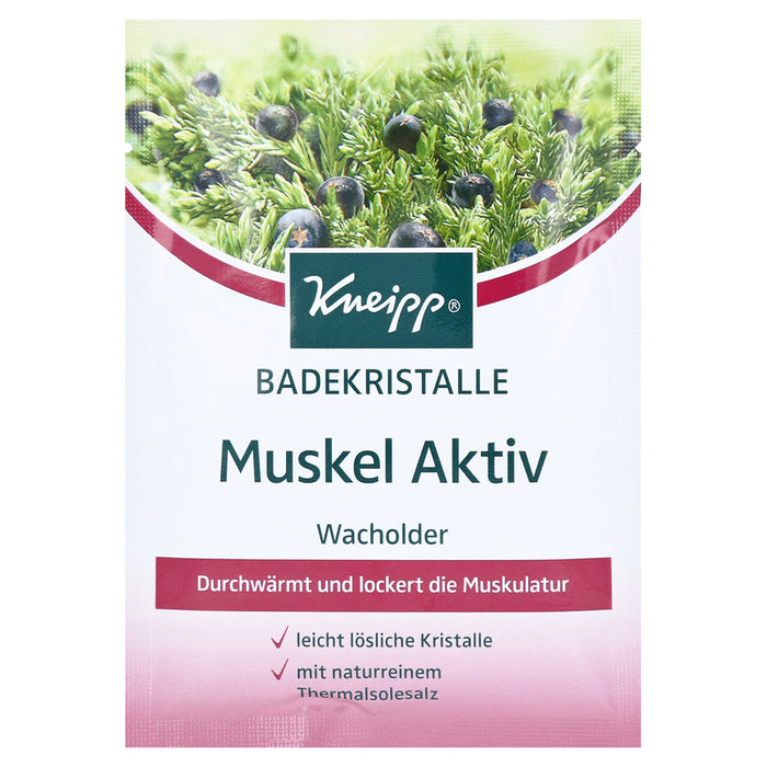 Kneipp Bath Crystals Muscle Active 60 g