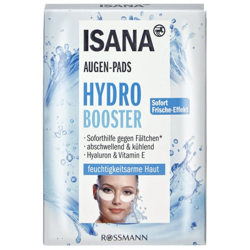 Isana Hydro Booster Hyaluron Eye Patches 6 x 2 Pads