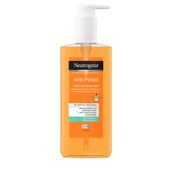 Neutrogena Anti-pimple Daily Wash Gel 200 ml