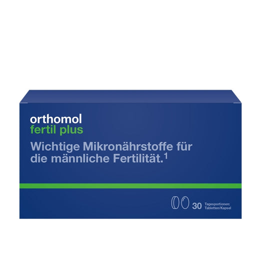 Orthomol Fertil Plus - Sperm Supplement 30 days