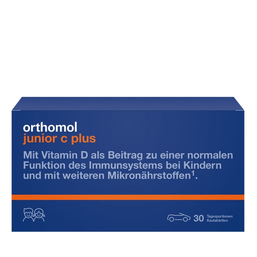 New Packaging Design - Orthomol Junior Vitamin C Plus Chewable Tab Forest Fruit 30 days