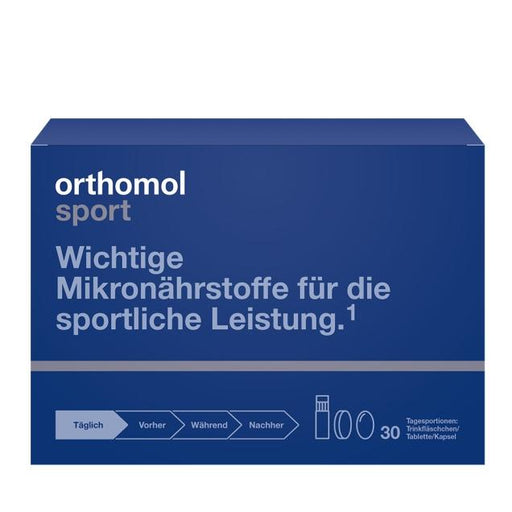 New Design - Orthomol Sport is a Supplements