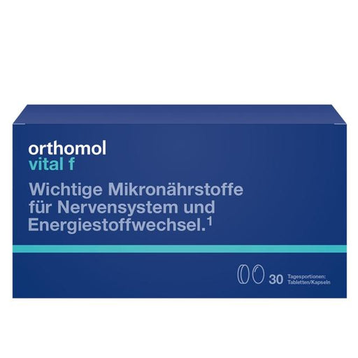 Orthomol Vital F Tab/Cap - Women Supplement 30 days