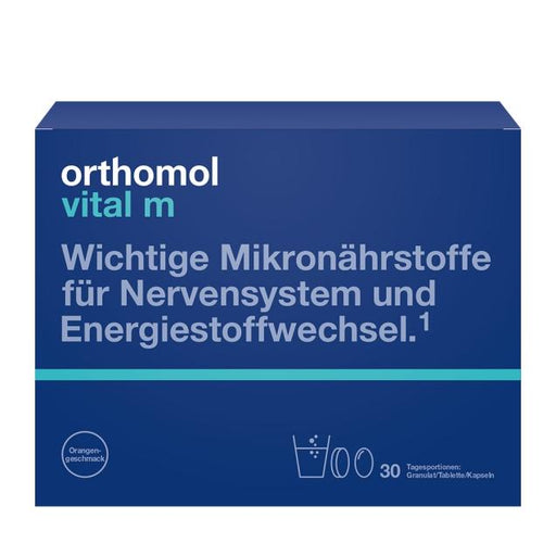 Orthomol Vital M Granules/Tab/Cap Orange - Men Supplement