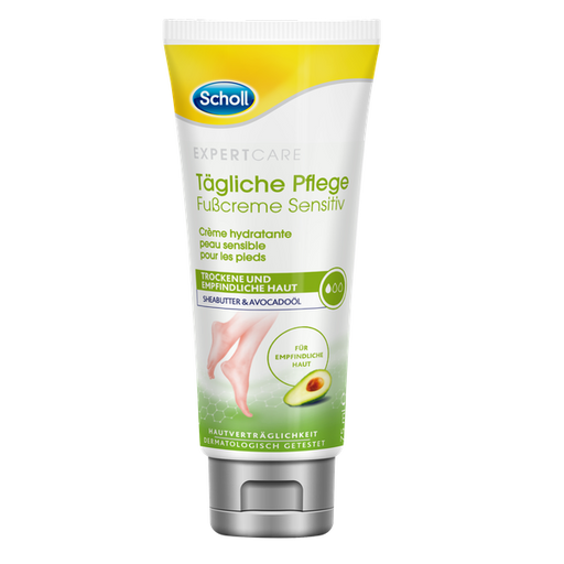 Scholl Daily Care Foot Cream Sensitive 75 ml