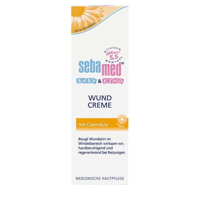 Sebamed Baby & Child Wound Cream with Calendula 75ml