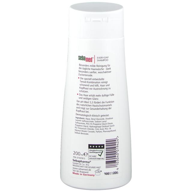 Sebamed Every Day Shampoo 200 ml back