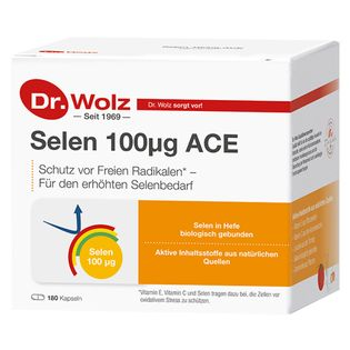 Dr. Wolz Selenium 100 ACE Cell Protection Capsules 180 pcs