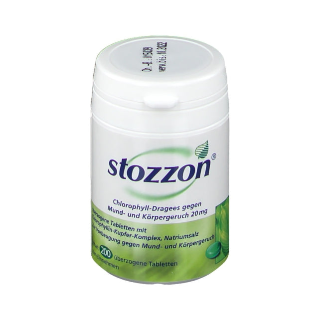 Stozzon Chlorophyll  Coated Tablets 200 pcs
