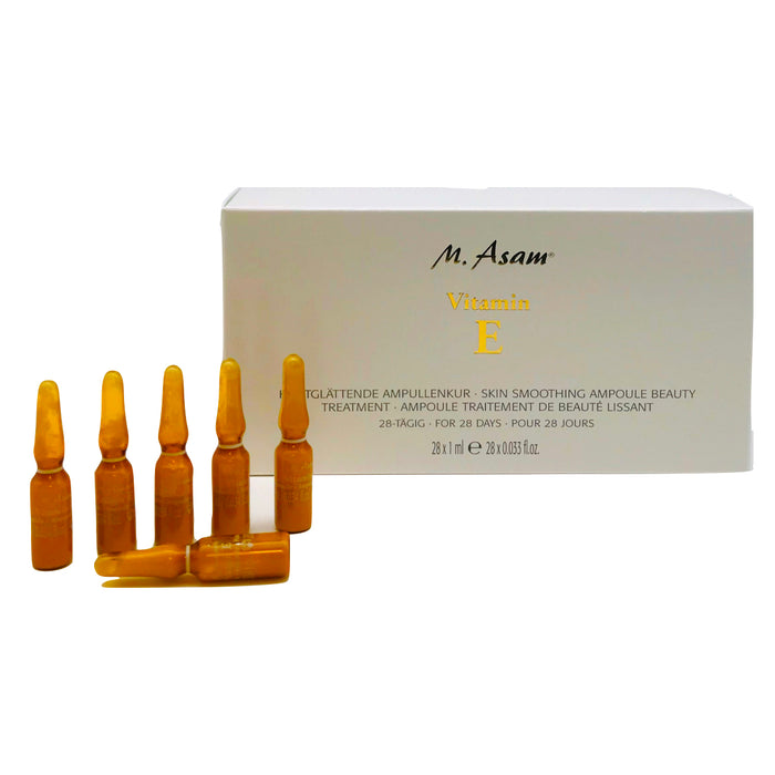 M Asam Vitamin E Skin Smoothing Ampoule Beauty Treatment 28 x 1 ml