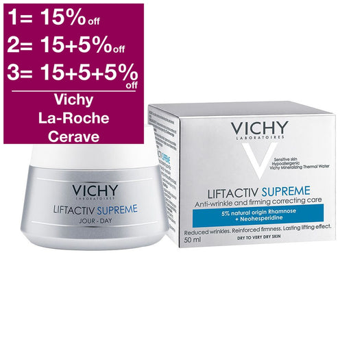 Vichy Liftactiv Supreme Day Cream - Dry Skin 50 ml