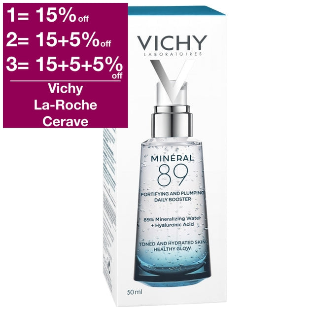 Vichy Mineral 89 Hyaluronic Acid Booster 50 ml