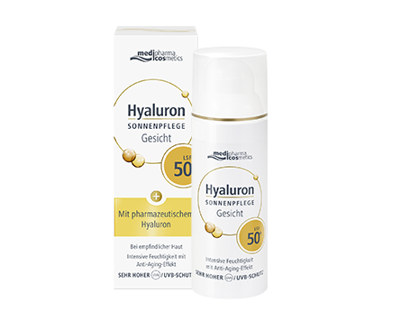 Medipharma Cosmetics Hyaluronic Acid Sunscreen Face SPF 50+