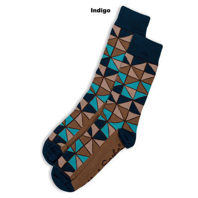 SOCKS - TIFFANY - AUSTRALIAN COTTON - Indigo - 2-8