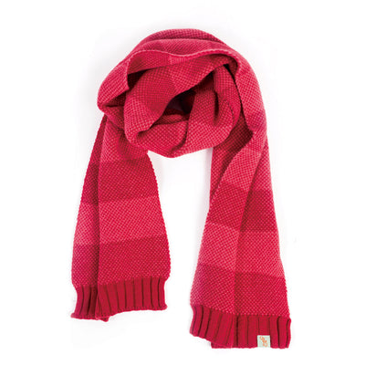 SCARVES - BIRDY - LAMBSWOOL - Spanish Red / Main Image -
