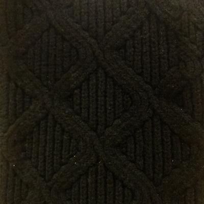 SCARVES - MERGE - LAMBSWOOL - Black -