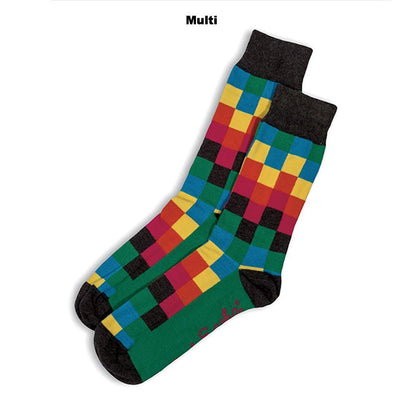 SOCKS - DIFFUSED - AUSTRALIAN COTTON - Multi - 2-8