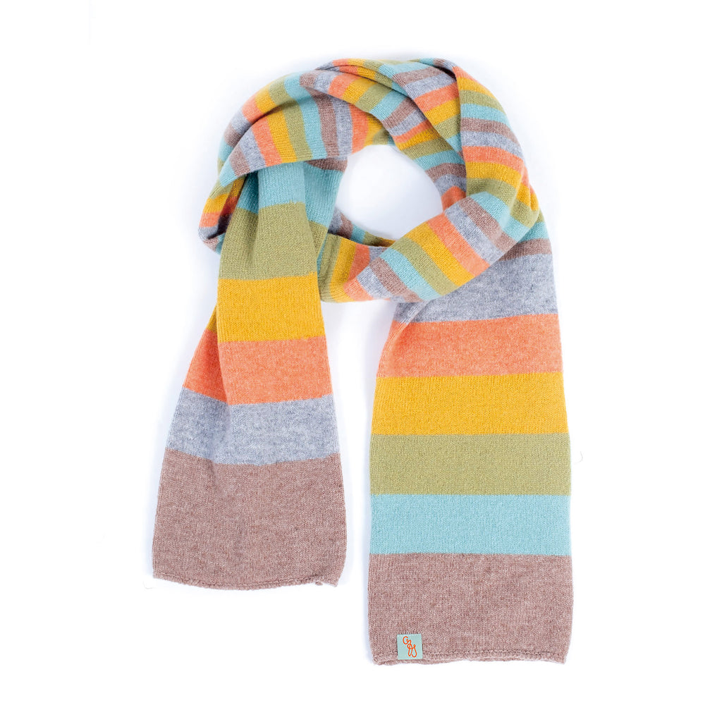 SCARVES - NO.1 - LAMBSWOOL - Brush / LT Beige Marle / Main Image -