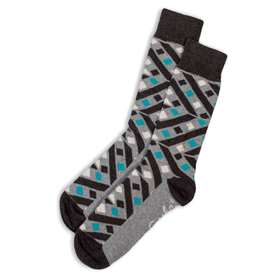 SOCKS - HELTER SKELTER - AUSTRALIAN COTTON - Grey Marle / Main Image - 2-8