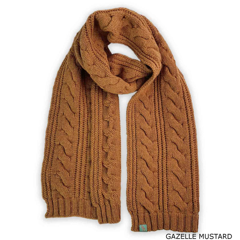 COAXIAL SCARF - LAMBSWOOL -  -