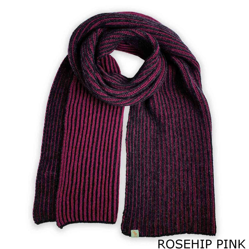 FISHERMAN SCARF - LAMBSWOOL -  -