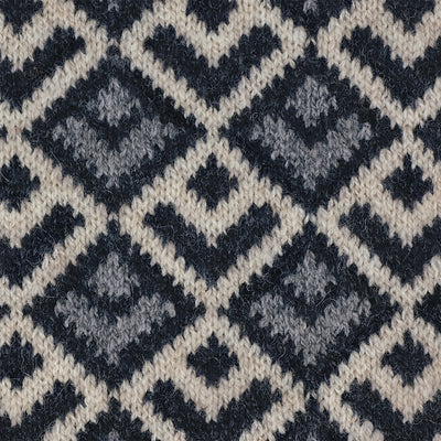 SCARVES - DECO - LAMBSWOOL - Nikau Grey -
