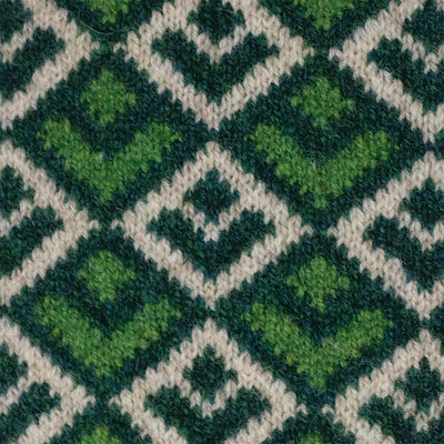 SCARVES - DECO - LAMBSWOOL - Cossack Green -